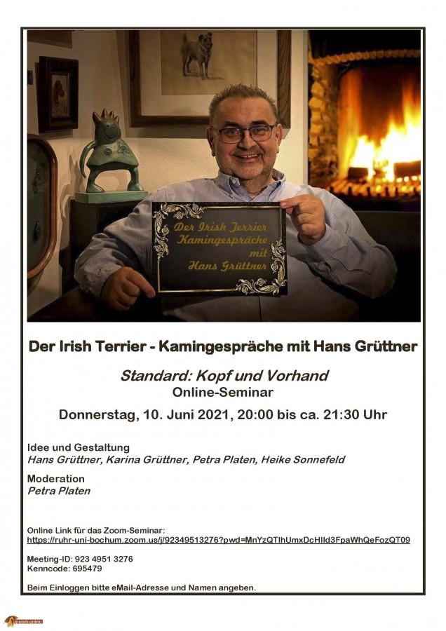 Kamingespräch Teil 3 mit Hans Grüttner